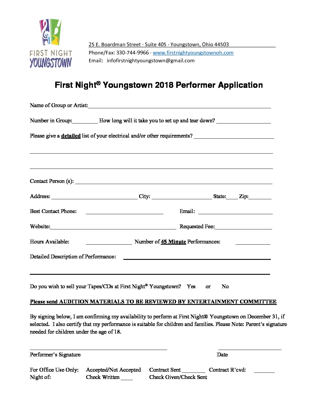 FNY-2018-Performer Application